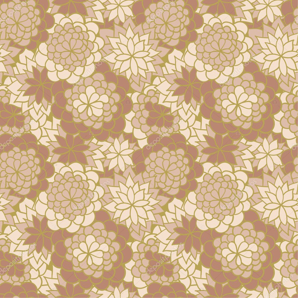Traditional Japanese Flower Patterns