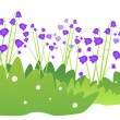 Bluebells — Stock Vector