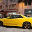 Постер, плакат: Nissan Skyline R34 GT R in Hong Kong