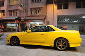 Nissan Skyline R34 GT-R in Hong Kong — Stock Photo