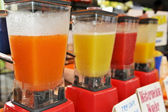 Blenders in a row — Stock Photo