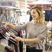 Boutique shopper — Stock Photo