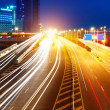 Highway light trails — Stock Photo #10616717