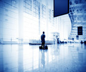 Shanghai Pudong International Airport — Stock Photo