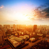 The evening of the city — Stock Photo