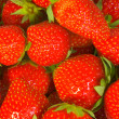 Backgroung of strawberry — Stock Photo