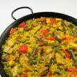 Stock Photo: VegetariPaell- Spanish rice