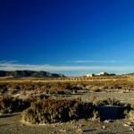 Dry salt lake - Rural landscape — Stock Photo #10311941