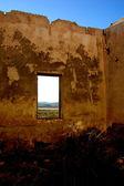 Terk edilmiş fabrika, kırsal i̇spanyol sanayi - oda detay — Stok fotoğraf