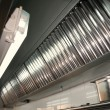 Foto Stock: Professional kitchen, exhaust systems