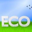 Ecology concpept — Stock Photo