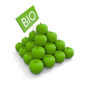 Biologic fruit concept — Stock Photo