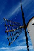 Historical Spanish windmill detail — Stock Photo