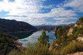 Spain, Fuensanta reservoir — Stock Photo