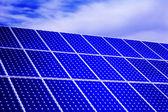 Photovoltaik, solar-panel - erneuerbare energien — Stockfoto