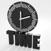 Concept of time — Stock Photo