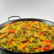 Foto Stock: VegetariPaell- Spanish rice