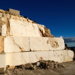Abandoned marble quarry — Stock Photo