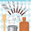 Royalty-Free Stock Vector Image: Kitchen and cooking collection