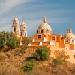 Santuario de los remedios, Cholula, Puebl(Mexico) — Stock Photo #10065455