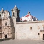 Church of La Soledad, Oaxaca (Mexico) — Stock Photo