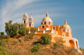 Santuario de los remedios, Cholula, Puebla (Mexico) — Stock Photo