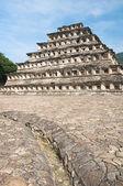 Pyramid of the Niches, El Tajin (Mexico) — 图库照片
