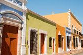 Colonial architecture in Campeche (Mexico) — Stock Photo