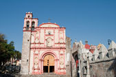 Kapelle des dritten ordens des heiligen franziskus, cuernavaca (mexiko) — Stockfoto