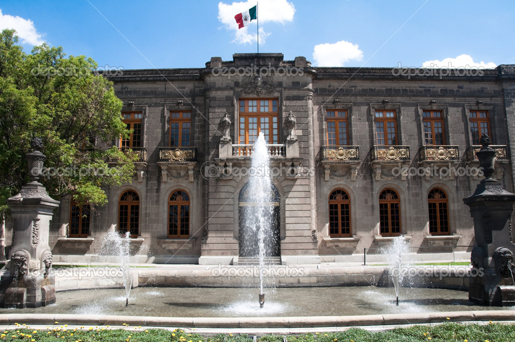Chapultepec castle, Mexico city — Stock Photo #10065312