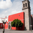 Santo Domingo church, Puebla (Mexico) — 图库照片