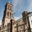 Puebla cathedral, Mexico — Stock Photo