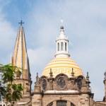 Guadalajara cathedral, Jalisco (Mexico) — Stock Photo
