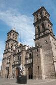 Puebla cathedral, Mexico — Stock Photo