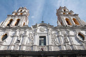 Jesuit church of La Compañia, Puebla (Mexico) — Stock Photo