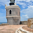 Lighthouse at Fort SFelipe del Morro, Puerto Rico — Stock Photo #10471079