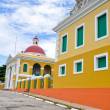 Typical architecture in Old San Juan, Puerto Rico — Stock Photo
