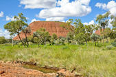 The Olgas, Australian desert — Stock Photo