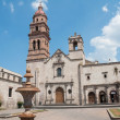 Church of St. Augustine, Morelia (Mexico) - Foto Stock