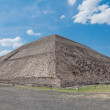 Pyramid of the Sun, Teotihuacan (Mexico) — Stock Photo #10495849