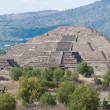 Pyramid of the Moon, Teotihuacan (Mexico) — Stock Photo