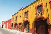 Colonial architecture in Cholula, Puebla (Mexico) — Stock Photo