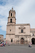 Convent of San Francisco, Morelia (Mexico) — Foto de Stock