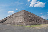 Pyramid of the Sun, Teotihuacan (Mexico) — Stock Photo