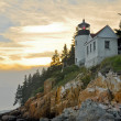 Bass Harbor Lighthouse, Acadia National Park (Maine) — Stock Photo