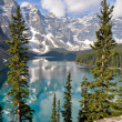 Moraine Lake, Rocky Mountains, Canada — Stock Photo