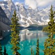 Moraine Lake, Rocky Mountains, Canada — Stock Photo #10515105