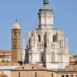Cathedral of Tarazona (Spain) - Stock Photo