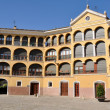 Ancient bullring in Tarazona (Spain) - Stock Photo