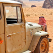 Desert Safari at Wadi Rum (Jordan) — Stock Photo #10703238